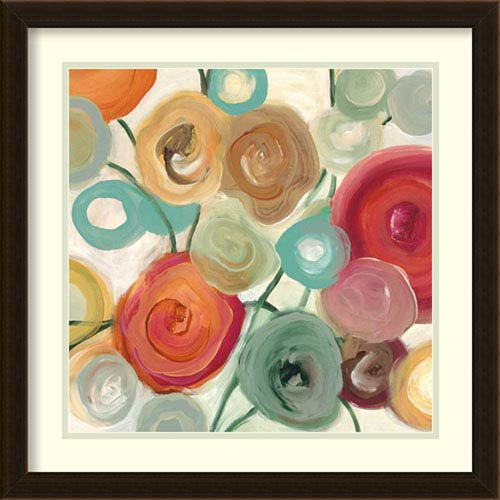 Blossom II by Cat Tesla: 22 x 22-Inch Framed Art