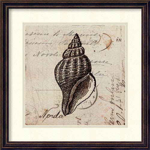 Ocean Collection I by Sabine Berg: 18 x 18-Inch Framed Art