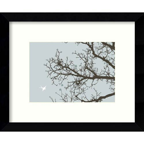 Amanti Art Whimsy Tree By Erin Clark: 11 X 9 Inch Framed Art ...