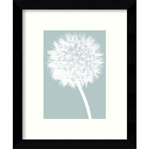 Dandelion by Jenny Kraft: 9 x 11-Inch Framed Art