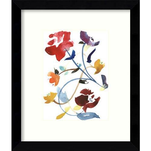 Nouveau Boheme - Folk Art Series No. 2 by Kiana Mosley: 9 x 11-Inch Framed Art