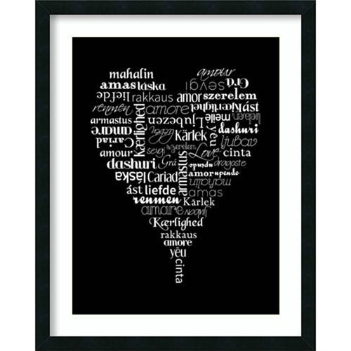 Translation of Love by Tenisha Proctor: 24 x 30-Inch Framed Art
