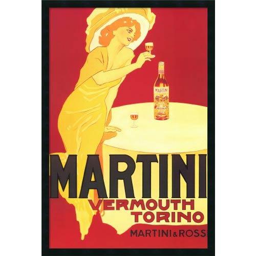 Amanti Art Martini - Vermouth Torino: 26 x 38 Print Reproduction