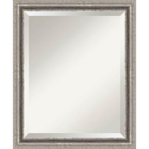 Bel Volto Pewter Medium Wall Mirror
