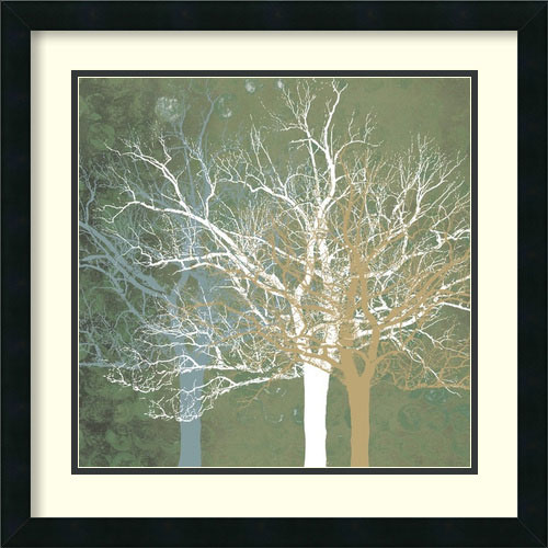 Amanti Art Quiet Forest by Erin Clark: 22 x 22 Print Reproduction