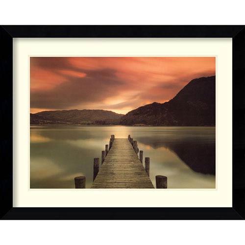 Amanti Art Ullswater, Glenridding, Cumbria by Mel Allen: 35 x 26-Inch Framed Art Print