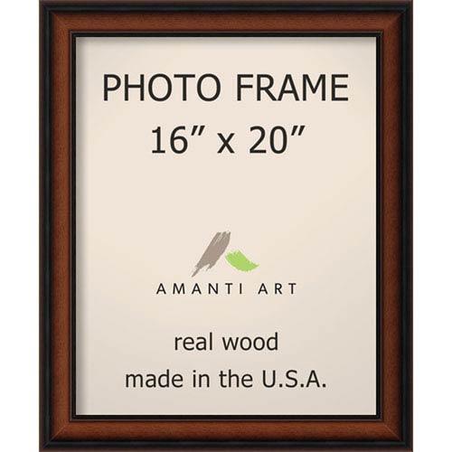 Amanti Art Bella Noce Walnut: 19 x 23-Inch Picture Frame