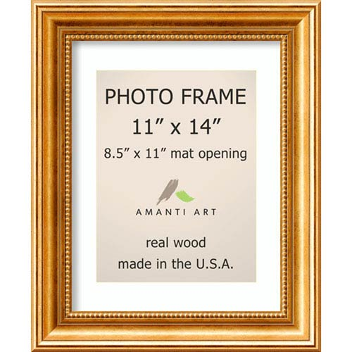 Amanti Art Townhouse Gold: 14 x 17-Inch Picture Frame
