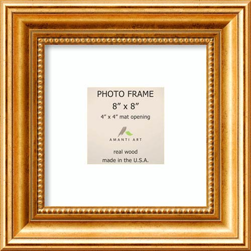 Amanti Art Townhouse Gold: 11 x 11-Inch Picture Frame