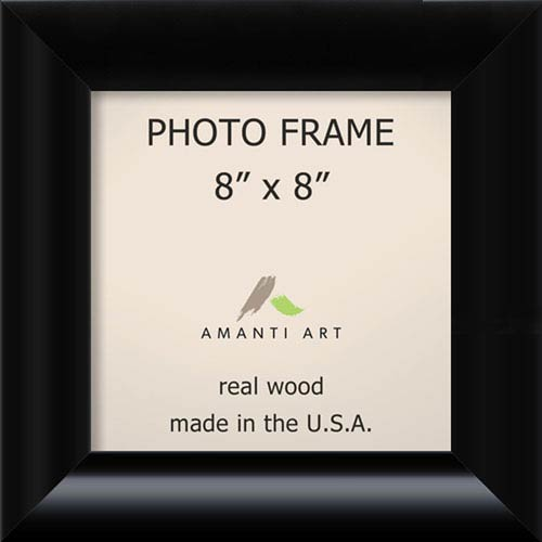 Amanti Art Steinway Black: 11 x 11-Inch Picture Frame