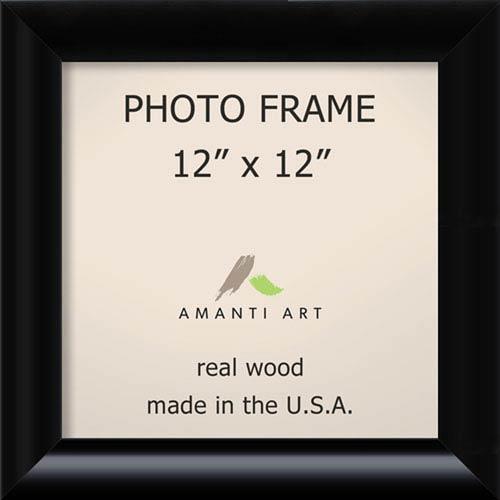 Amanti Art Steinway Black: 15 x 15-Inch Picture Frame