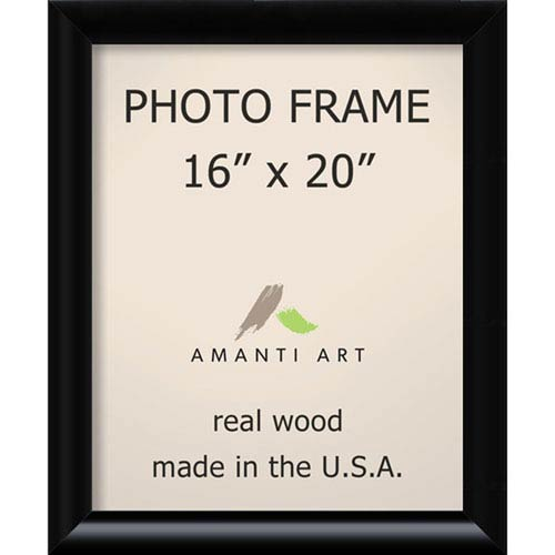 Amanti Art Steinway Black: 19 x 23-Inch Picture Frame