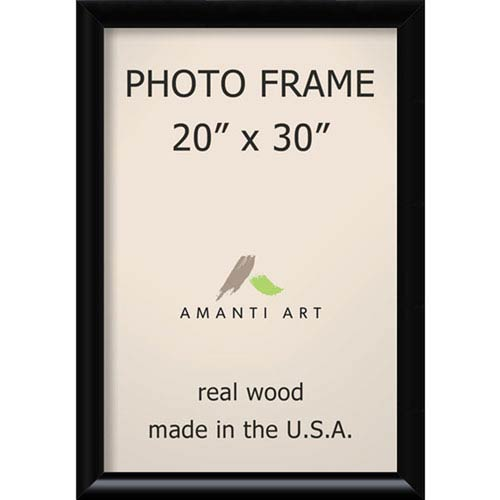 Amanti Art Steinway Black 23 X 33 Inch Picture Frame