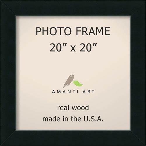 Amanti Art Corvino Black: 25 x 25-Inch Picture Frame