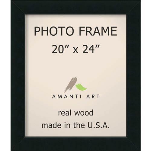 Corvino Black: 25 x 29-Inch Picture Frame