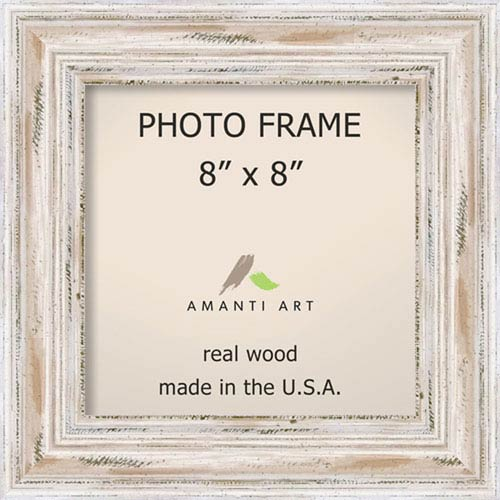 Alexandria White Wash: 12 x 12-Inch Picture Frame