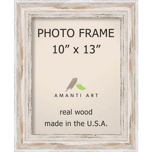 Amanti Art Alexandria White Wash 14 X 17 Inch Picture Frame