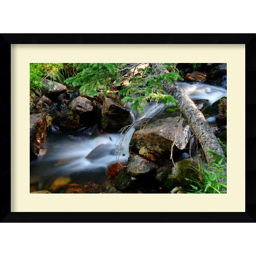 Amanti Art Mountain Stream by Andy Magee: 38.62 x 28.62 Print Reproduction