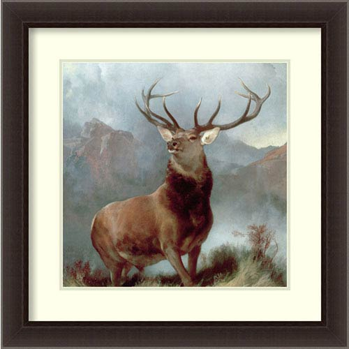 Monarch of the Glen 1851 By Sir Edwin Landseer : 26 x 26-Inch