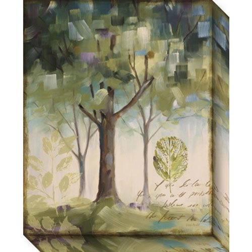 Hopes and Greens III: Tree by Lisa Audit: 16 x 20-Inch Canvas Art