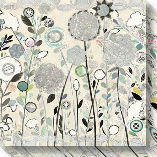 Interlocking Shadows by Candra Boggs: 20 x 20-Inch Canvas Art