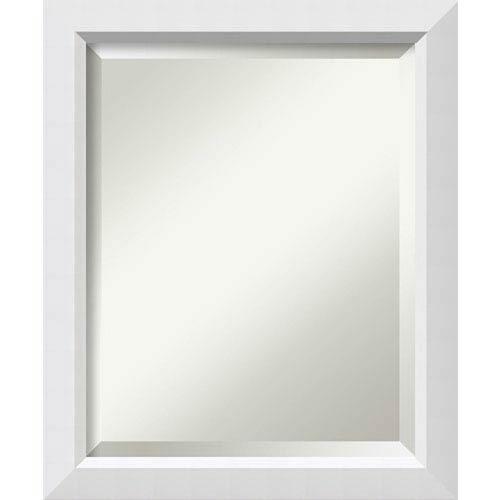 White 19 x 23-Inch Medium Vanity Mirror