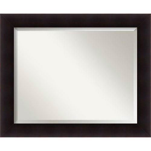 Espresso 33 x 27-Inch Large Vanity Mirror