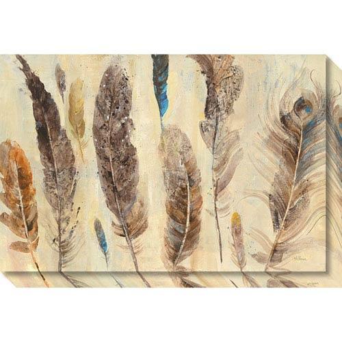 Amanti Art Feather Study by Albena Hristova, 30 x 20 In. Canvas Art