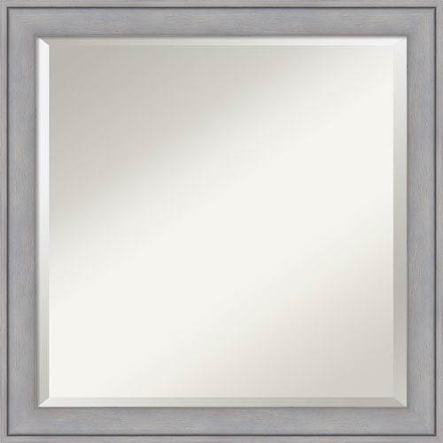 Amanti Art Graywash, 23 x 23 In. Framed Mirror