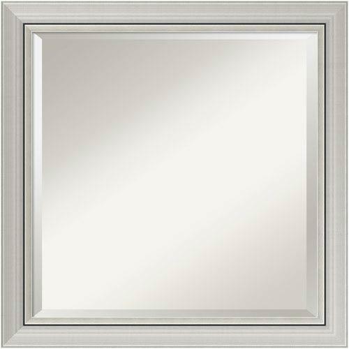 Romano Silver, 24 x 24 In. Framed Mirror