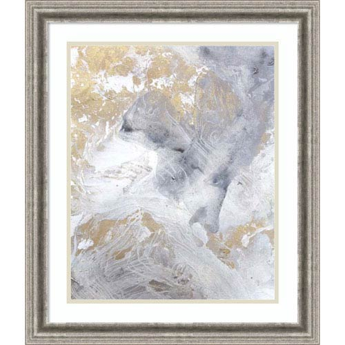 Gold Fusion II by Julia Contacessi, 23 x 27 In. Framed Art Print