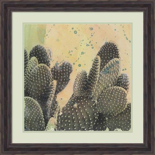 Amanti Art Desert Dreams II (Cactus) by Naomi McCavitt, 25 x 25 In. Framed Art Print