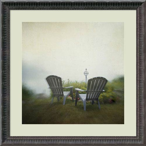 Amanti Art Being Present in the Moment by Dawn D. Hanna, 23 x 23 In. Framed Art Print