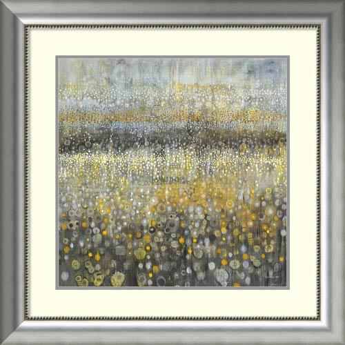 Rain Abstract II by Danhui Nai, 33 x 33 In. Framed Art Print