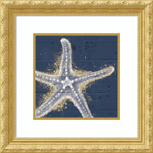 Amanti Art Calm Seas XI no Words (Sea Star) by Janelle Penner, 22 x 22 In. Framed Art Print