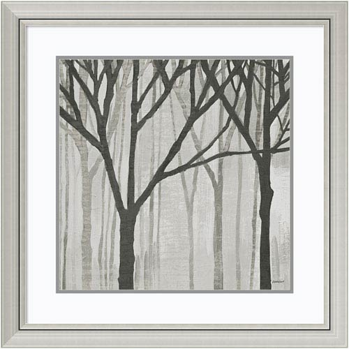 Spring Trees Greystone III by Kathrine Lovell, 30 x 30 In. Framed Art Print