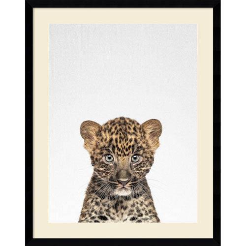 Leopard by Tai Prints, 23 x 29 In. Framed Art Print