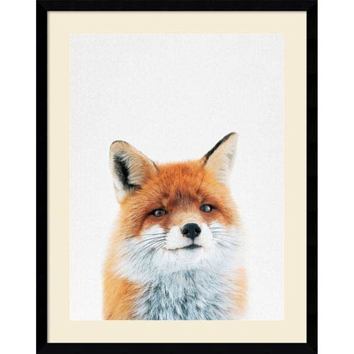 Fox by Tai Prints, 23 x 29 In. Framed Art Print