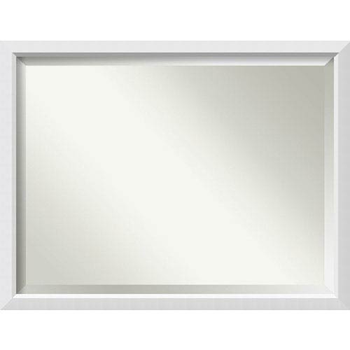 Blanco White 43 x 33 In. Bathroom Mirror