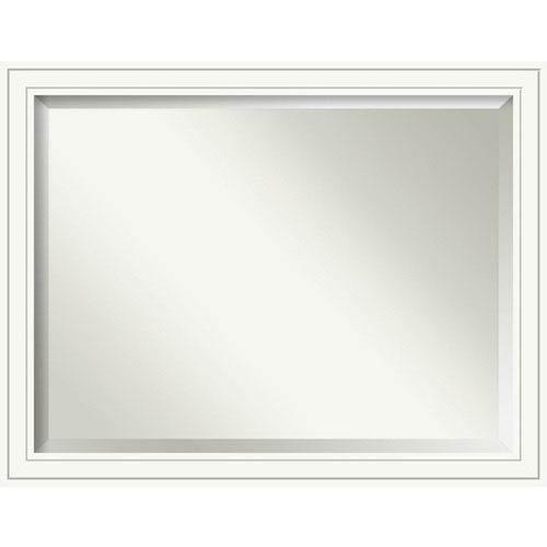 Craftsman White 45 x 35 In. Bathroom Mirror