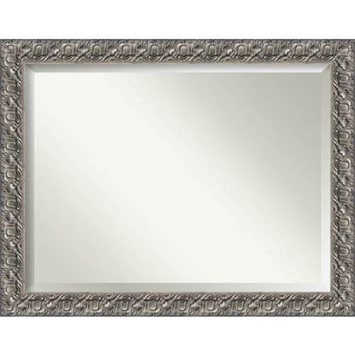 Amanti Art Silver Luxor 48 X 36 In Bathroom Mirror