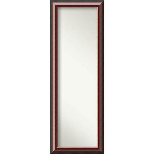 Cambridge Mahogany 18 x 52 In. Full Length Mirror
