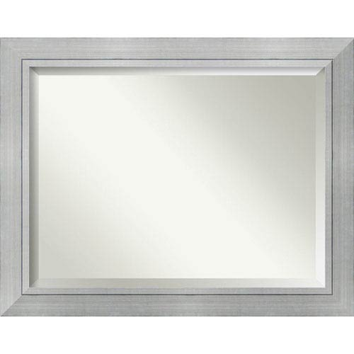 Amanti Art Romano Silver 47 x 37 In. Wall Mirror