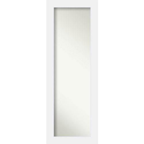 Corvino White 19 x 53 In. Wall Mirror