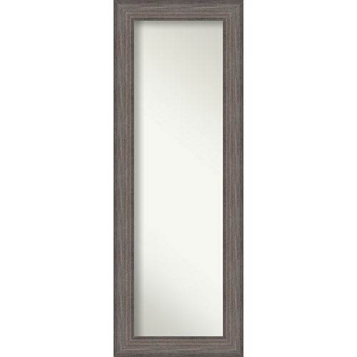 Country Barnwood 19.5 x 53.5 In. Wall Mirror