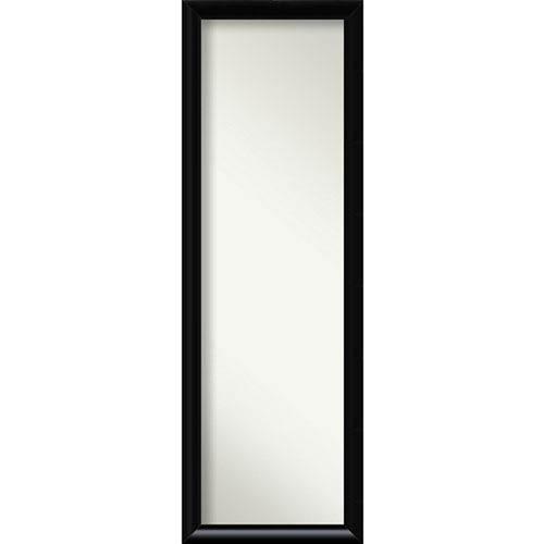 Steinway Black Scoop 17 x 51 In. Wall Mirror