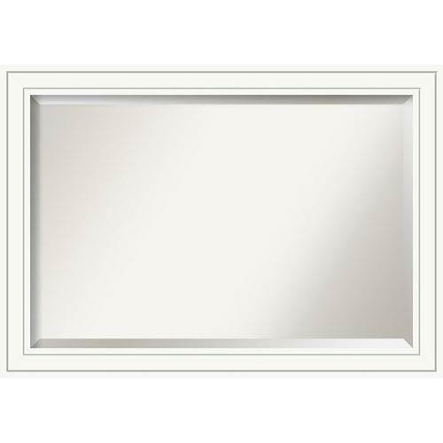 Craftsman White 41 x 29 In. Bathroom Mirror