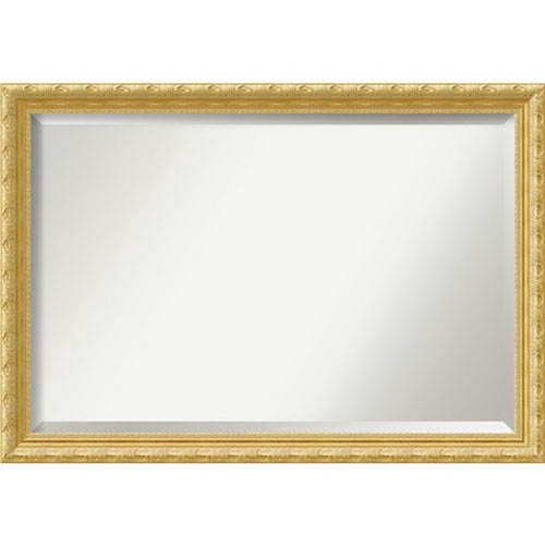 Amanti Art Versailles Gold 40 x 28 In. Bathroom Mirror