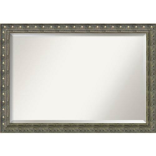 40 x 40 mirror beveled edge amanti art barcelona champagne 40 28 in bathroom mirror inch bellacor