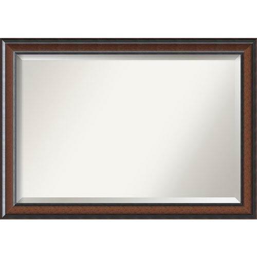 Cyprus Walnut 40.75 x 29 In. Bathroom Mirror